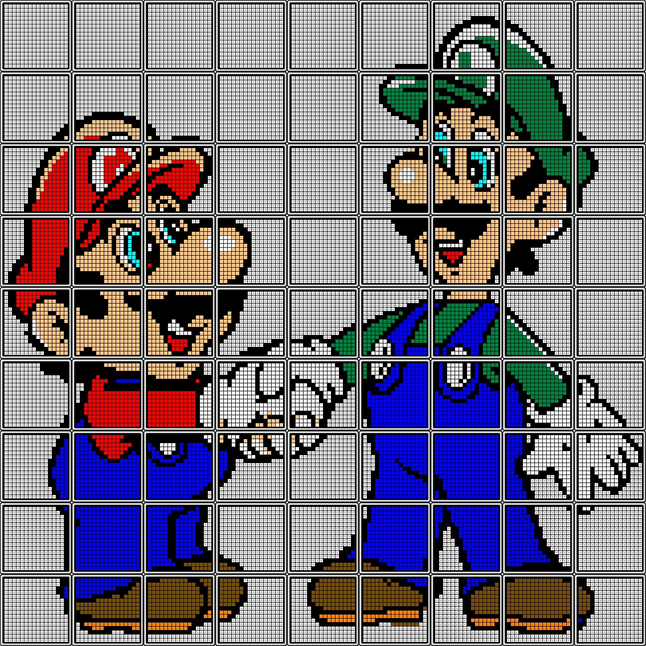 Game boy color super mario bros deluxe - Super Mario Bros Deluxe Goomba Mario And Luigi Shaking Hands